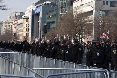 Inaugural Parade security