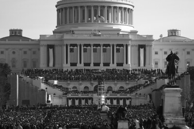 United States Capitol - Inauguration Day