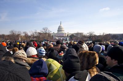 Crowd - Inauguration Day