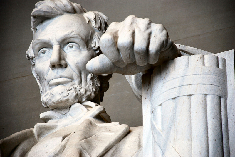 Title: Lincoln and His Left Hand<br /> Date: February 2007