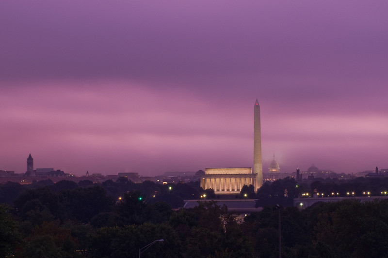 Title: Purple Pre-Dawn<br /> Date: September 2009