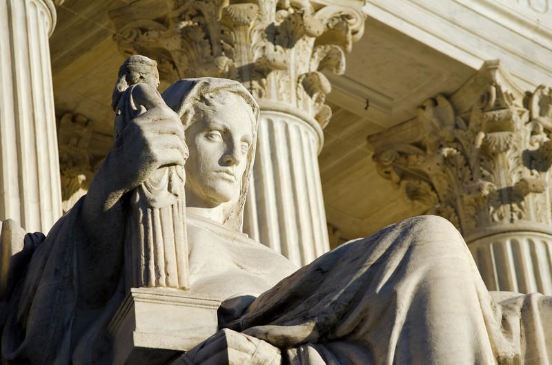 Supreme Court Statue