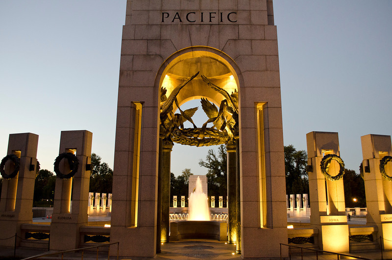 WWII Memorial - Pacific entrance