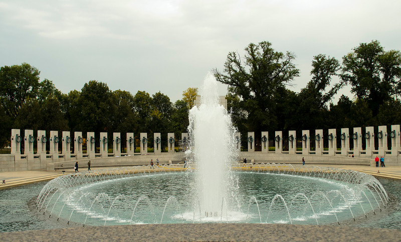 WWII Memorial Fountain - Day