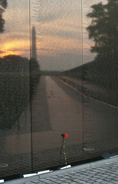 Sunrise at the Wall
