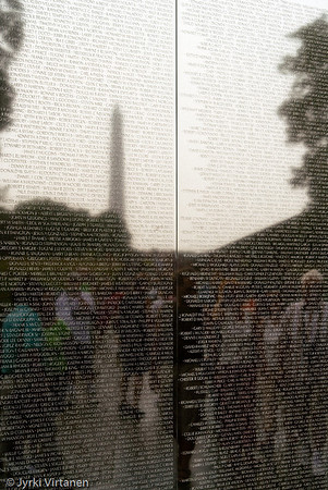Vietnam War Memorial II - Washington, DC, USA