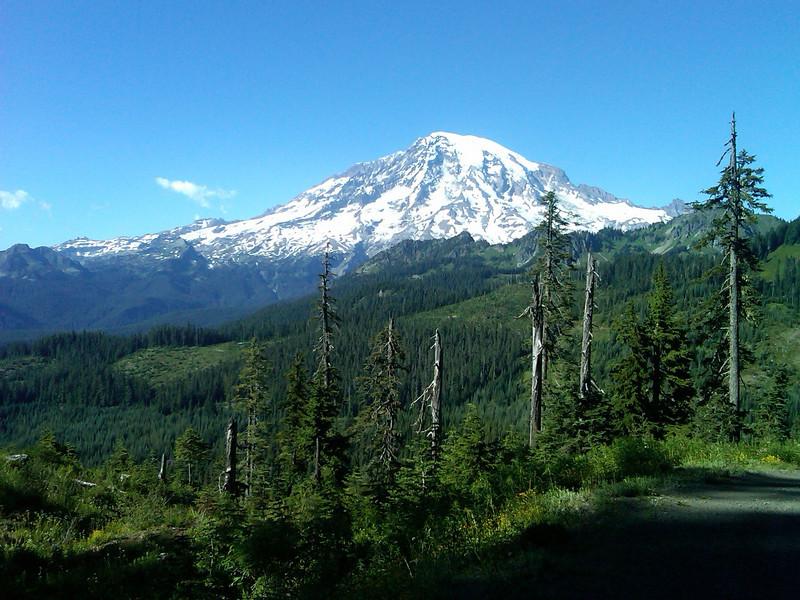 Mt Rainier,cameracphone capture