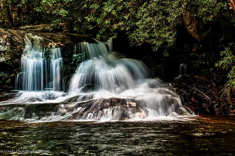Moccasin Creek  Trail Hemlock Falls