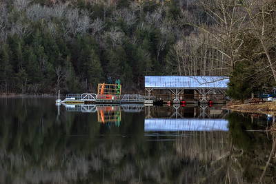 Dock at Lake Leatherwood