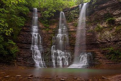 Twin Falls at Camp Orr
