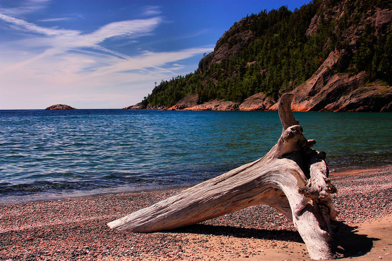 Alona Bay on the shores of Lake Superior.