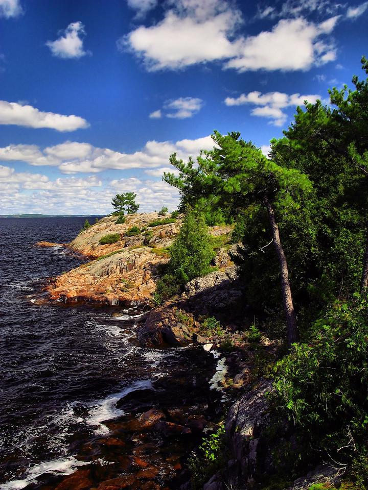 Johns island outside Serpent River.