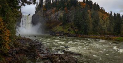 Snoqualmie Falls Deluge