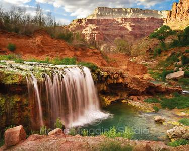 Lower Navajo Falls, Havasupai