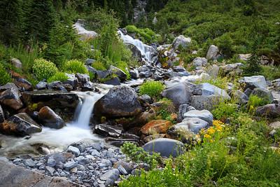 Mount Rainier unnamed falls