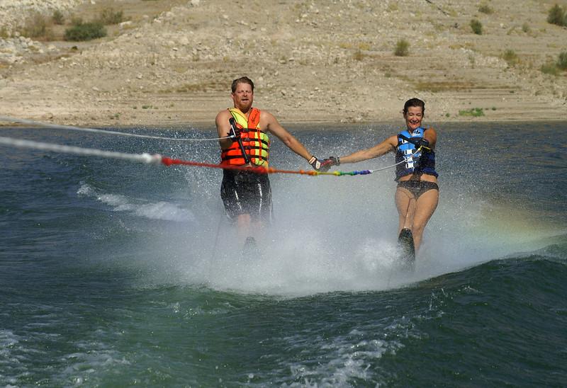 2 wake boarders