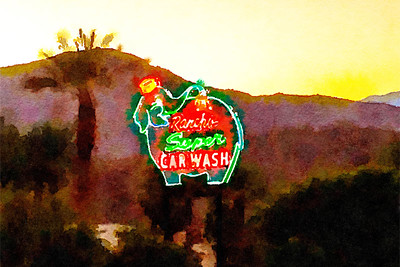 Rancho Super Car Wash, Rancho Mirage, CA