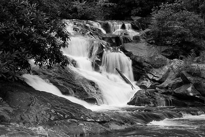 Lower falls on Big Creek