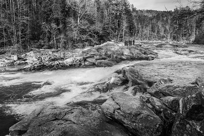 Bull Sluice Rapids on the Chattooga River