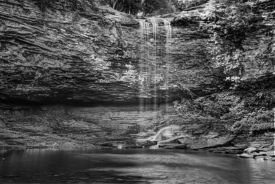 Falls in Cloudland Canyon