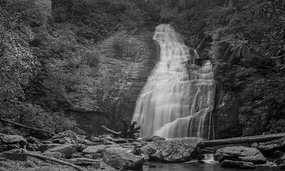 Helton Creek Falls (upper falls)