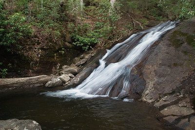 Falls on Blood Mountain Creek