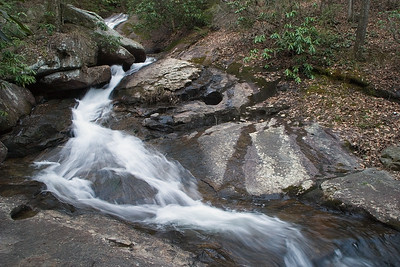 Blood Mountain Creek Falls