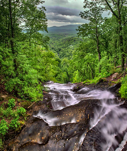 Top of Amicalola Falls