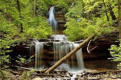 Tioga Falls. Fort Knox Kentucky USA.  Nikon D70