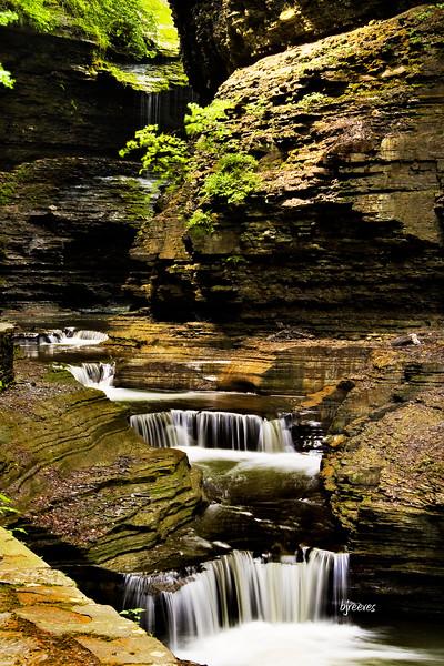 Waterfalls in Watkins Glenn