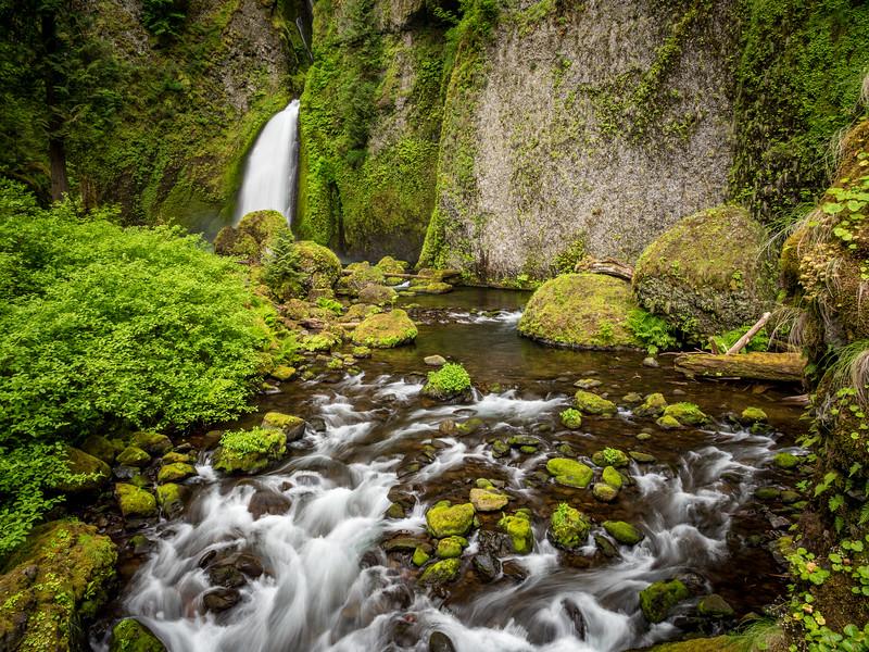 Wahclella Falls 1