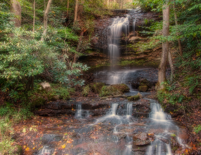Brushey Run Waterfall