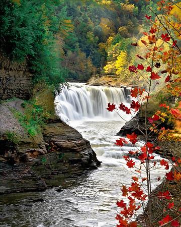 Letchworth State Park lower falls