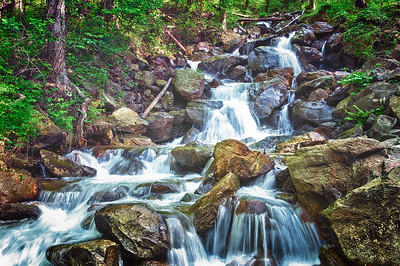 """Little Amicalola Creek #3"""