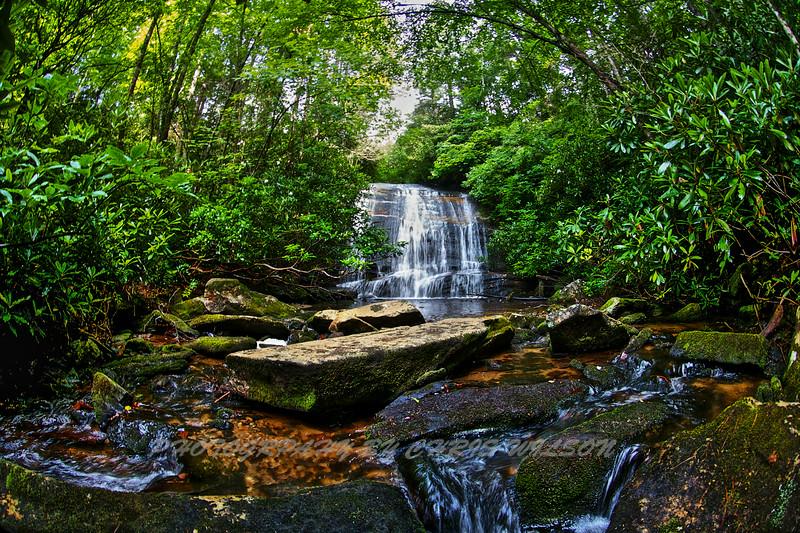 WNC Waterfall 11 HDR