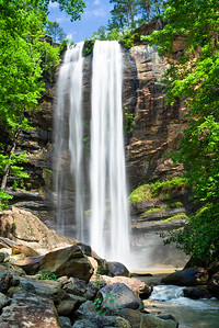 """Toccoa Falls in Early Spring"""