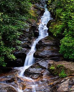 """Dukes Creek Falls Detail"""