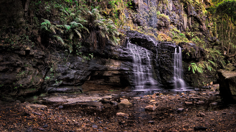 Fairy Bower Falls and Rock face