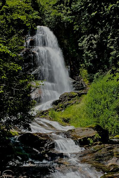 WNC Waterfall HDR 1