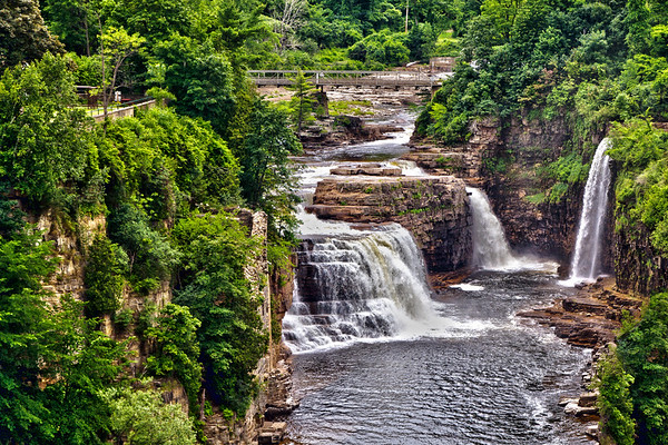 Ausable Chasm in the Adirondack Mnts in New York State