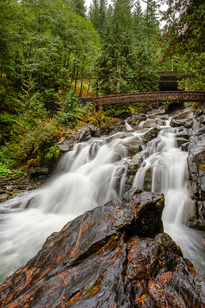 Deception Falls - Vertical: Skykomish, WA