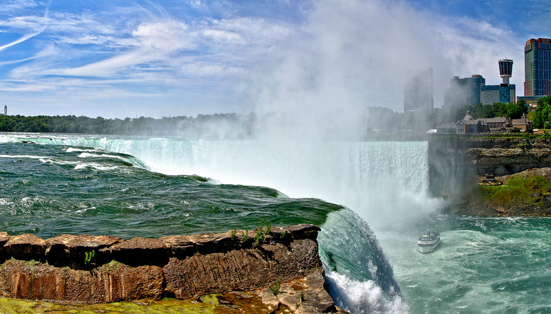 Niagara Falls, view from Goat Island