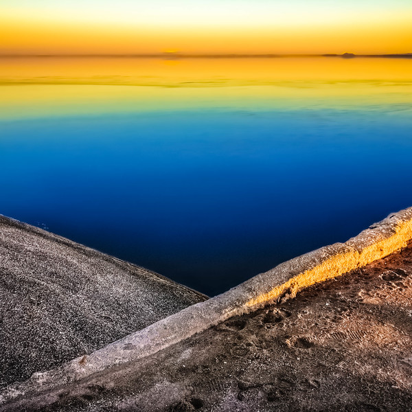 Sunset at Salton