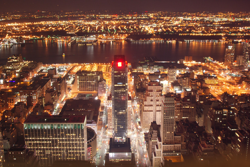 Top Of The Empire State Building: View of 34th Street