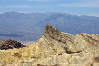 Zabriskie Point, Death Valley  The symbol '©' on the photos DOES NOT PRINT.