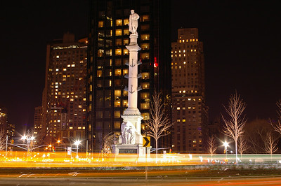 The new Columbus Circle, NY  The symbol '©' on the photos DOES NOT PRINT.