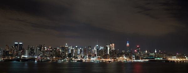 This is a view from Weehawken, NJ  The symbol '©' on the photos DOES NOT PRINT.