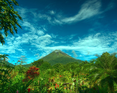Arenal Volcano Alajuela Province, Costa Rica  The symbol '©' on the photos DOES NOT PRINT.