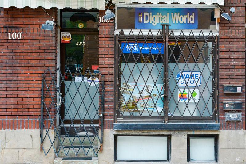 Digital World (and Vape Shop)