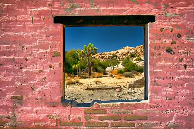 Pink Weathered Wall – Josha Tree National Park, CA